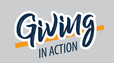 giving in action logo