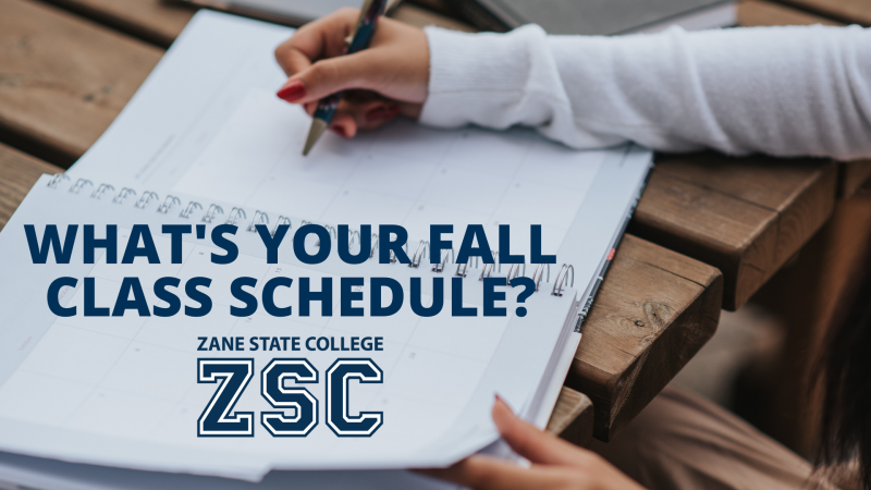WHAT'S YOUR FALL SCHEDULE
